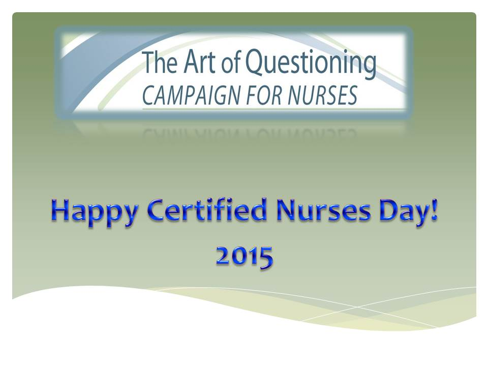 Nursing: The Art of Innovation - 2015 (formerly The Art of Questioning)