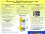 Effectiveness of a Multimodal Educational Program to Improve Mobility Practices in the Intensive Care Unit